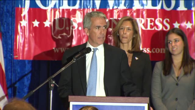Joe Walsh US Representative Candidate Gives Concession Speech This Is A Nasty Business on November 07 2012 in Chicago Illinois
