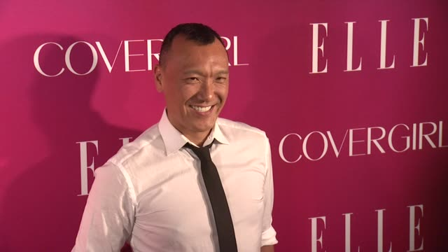 joe zee at 4th annual elle women in music celebration arrivals at the edison ballroom on april 10 2013 in new york new york - edison ballroom stock videos & royalty-free footage