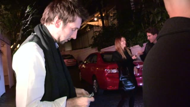 Joel David Moore Izabella Miko at Chateau Marmont in West Hollywood 02/14/13