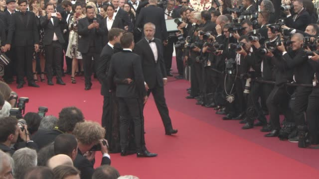 joel edgerton jeff nichols ruth negga at 'loving' red carpet at grand theatre lumiere on may 16 2016 in cannes france - grand theatre lumiere stock videos & royalty-free footage