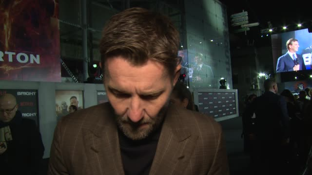 joel edgerton on makeup, will smith, and upcoming work at bfi southbank on december 15, 2017 in london, england. - bfi southbank stock videos & royalty-free footage