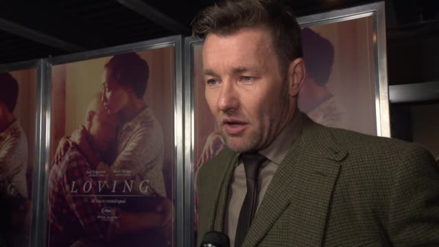 INTERVIEW Joel Edgerton on why he feels Loving is still a relevant story today what he hopes the audience take away from the film and his favorite...