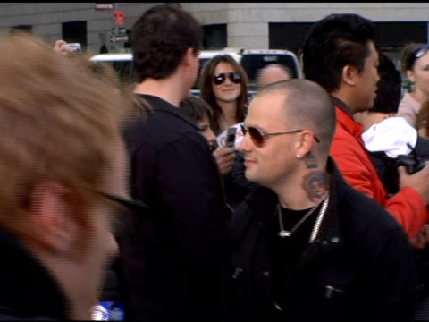 Joel Madden and Benji Madden of Good Charlotte at the Good Charlotte Live Appearance on the CBS Early Show Celebrating the Release of their 4th Album...