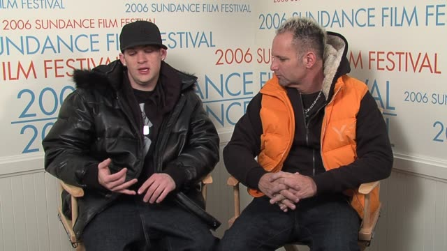 Joel Madden and Marvin Scott Jarrett on being at the festival on music branching out and about the film and its reviews at the 2006 Sundance Film...