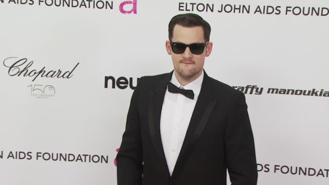 Joel Madden at the 18th Annual Elton John AIDS Foundation Oscar Party at West Hollywood CA