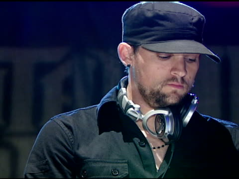 DJ Joel Madden at the Best Buy Presents Guitar Hero® III Legends of Rock Launch Party at Best Buy Rooftop in Los Angeles California on October 27 2007