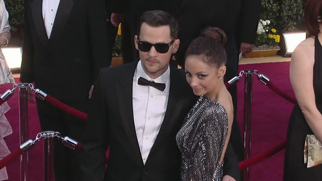 Joel Madden Nicole Richie at the 82nd Annual Academy Awards Arrivals Part 2 at Los Angeles CA