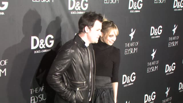 Joel Madden Nicole Richie at the DG Flagship Boutique Opening Benefiting the Art of Elysium at Los Angeles CA