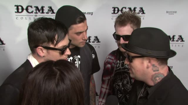 joel madden tal cooperman josh madden and benji madden at the dcma collective celebrates grand opening of flagship store on march 15 2008 - flagship store stock videos and b-roll footage