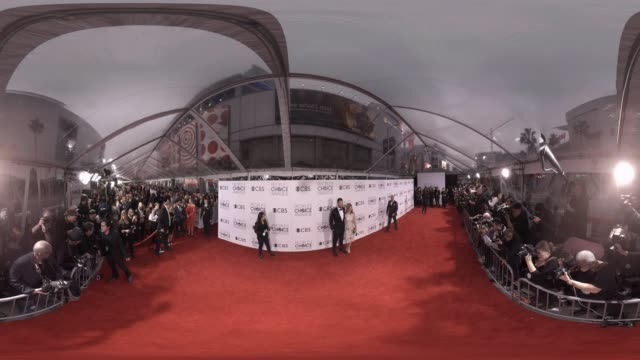 joel mchale at 2016 people's choice awards 360 - monoscopic image stock videos & royalty-free footage