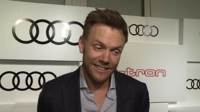 INTERVIEW Joel McHale on if he brought Kermit the Frog as his date working with Kermit on the new Audi ad what he thought of the allnew A3 Sportback...