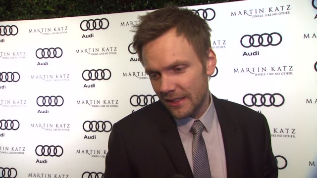 Joel McHale on the event at the Audi And Martin Katz Celebrate The 2012 Golden Globe Awards in West Hollywood CA