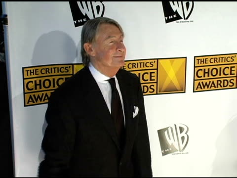 joel schumacher at the 2005 critics' choice awards at the wiltern theater in los angeles, california on january 10, 2005. - wiltern theater stock videos & royalty-free footage