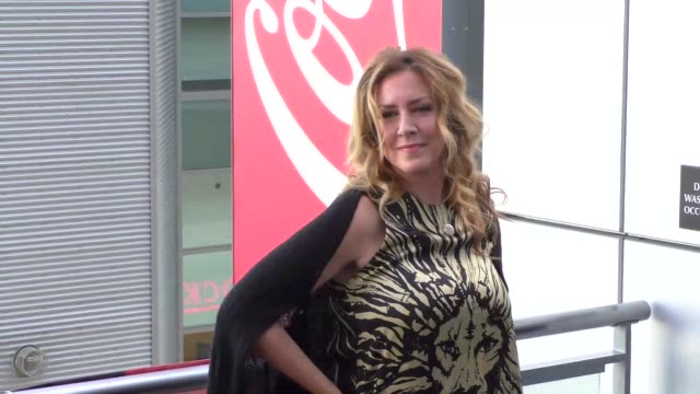 joely fisher arriving at dizzy feet dance gala at microsoft theatre in los angeles celebrity sightings in los angeles on august 1 2015 in los angeles... - joely fisher stock videos and b-roll footage