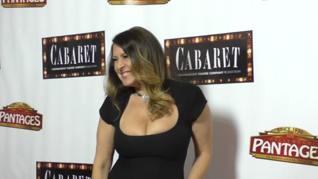 vídeos de stock e filmes b-roll de joely fisher at the opening of cabaret at hollywood pantages theatre celebrity sightings on july 20 2016 in los angeles california - joely fisher
