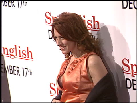 joely fisher at the 'spanglish' premiere on december 9 2004 - spanglish stock videos & royalty-free footage