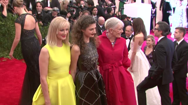 Joely Richardson Daisy Bevan and Vanessa Redgrave at The Metropolitan Museum of Art and Costume Institute Benefit Gala at Metropolitan Museum of Art...