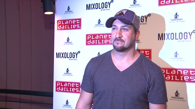 joey fatone at joey fatone and kym johnson host after party for premiere of dancing with the stars at mixology 101 on 9/24/12 in los angeles ca - joey fatone stock videos & royalty-free footage
