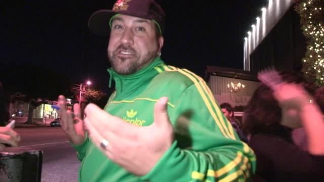 vídeos de stock e filmes b-roll de joey fatone at stk in west hollywood 10/16/12 - joey fatone