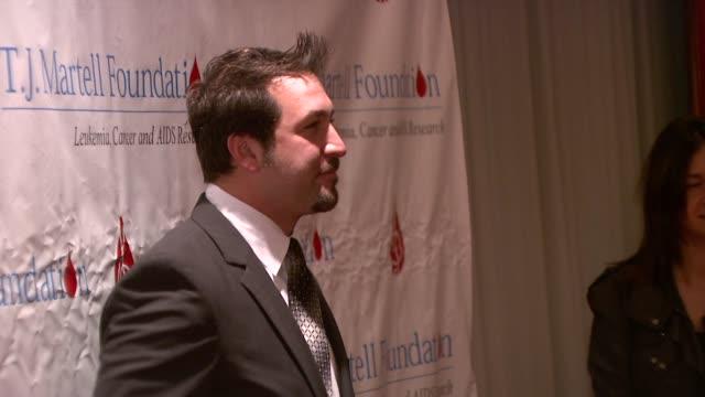 vídeos de stock e filmes b-roll de joey fatone at the 33rd annual tj martell foundation awards gala at new york ny. - joey fatone