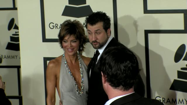 joey fatone at the 50th annual grammy awards at los angeles california. - joey fatone stock videos & royalty-free footage
