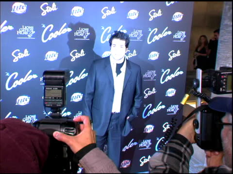 joey fatone at the 'the cooler' premiere at the egyptian theatre in hollywood california on november 24 2003 - joey fatone stock videos & royalty-free footage