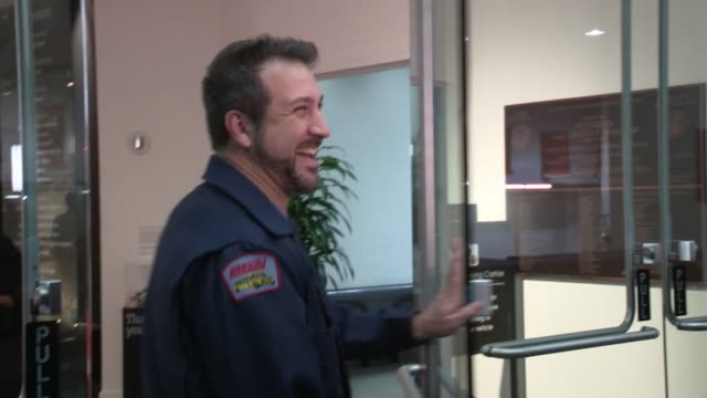 joey fatone greets fans at get lucky for lupus in los angeles 09/13/12 - joey fatone stock videos & royalty-free footage