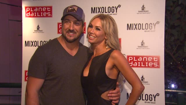 joey fatone, kym johnson at joey fatone and kym johnson host after party for premiere of dancing with the stars at mixology 101 on 9/24/12 in los... - joey fatone stock videos & royalty-free footage