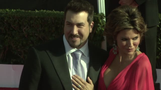 joey fatone lisa rinna at the 15th annual screen actors guild awards at los angeles ca - joey fatone stock videos & royalty-free footage