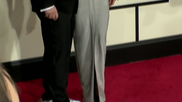 joey fatone, lisa rinna at the 50th annual grammy awards at los angeles california. - joey fatone stock videos & royalty-free footage