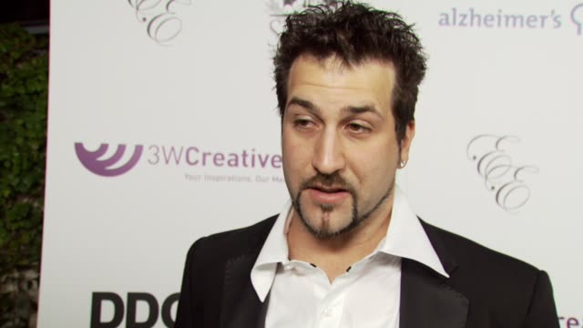 joey fatone on the event the playboy mansion dancing with the stars at the sammy sideout's 3rd annual alzheimer's benefit at the playboy mansion... - playboy mansion stock videos & royalty-free footage