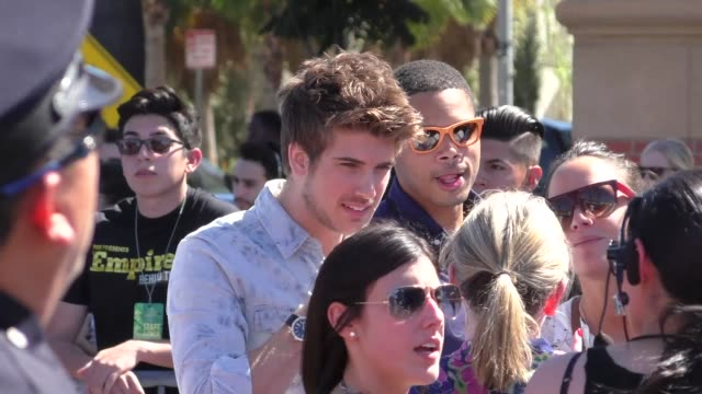 joey graceffa arriving to the teen choice awards at galen center in los angeles - celebrity sightings on aug 16, 2015 in los angeles, california. - joey graceffa stock videos & royalty-free footage