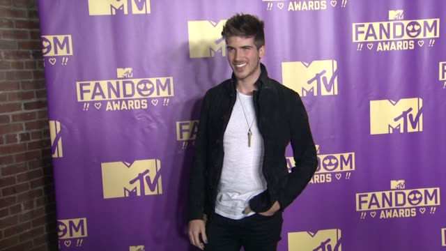 joey graceffa at comiccon international 2015 mtv fandom awards on july 09 2015 in san diego california - mtv1 stock-videos und b-roll-filmmaterial