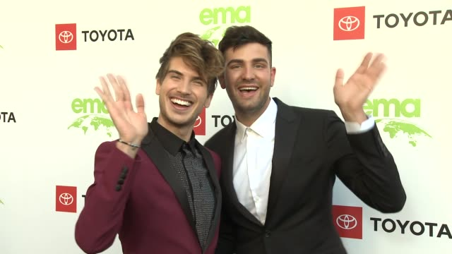 joey graceffa at the 29th annual environmental media awards at montage beverly hills on may 30, 2019 in beverly hills, california. - environmental media awards stock-videos und b-roll-filmmaterial