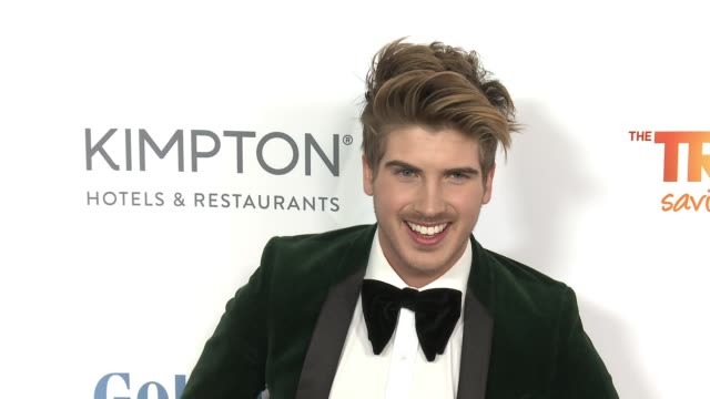 joey graceffa at the trevor project's 2016 trevorlive in los angeles, ca 12/4/16 - joey graceffa stock videos & royalty-free footage