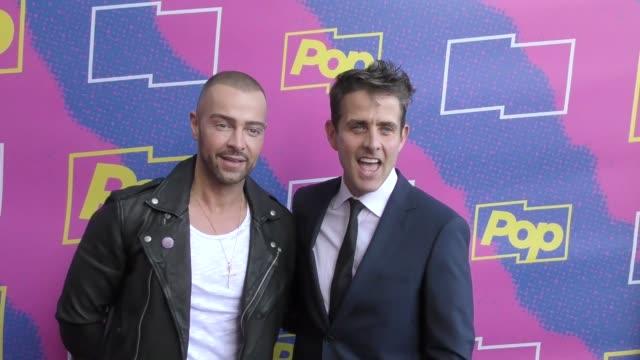 Joey Lawrence Joey McIntyre at the Premiere Of Pop TV's 'Hollywood Darlings' on April 06 2017 in Los Angeles California
