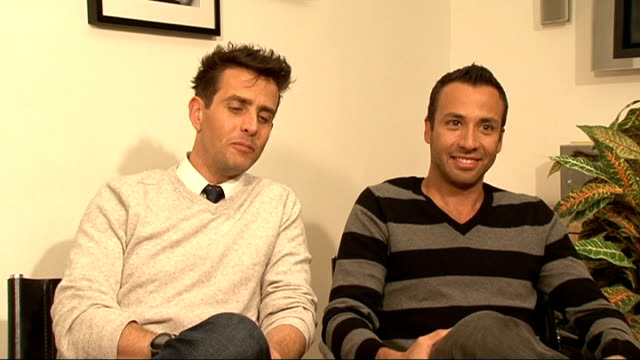 Joey McIntyre and Howie Dorough interview McIntyre and Dorough interview SOT On if they miss the hysteria from their fans it's still there the...
