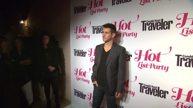 Joey McIntyre at Conde Nast Traveler Hot List Party on 4/12/12 in Los Angeles CA