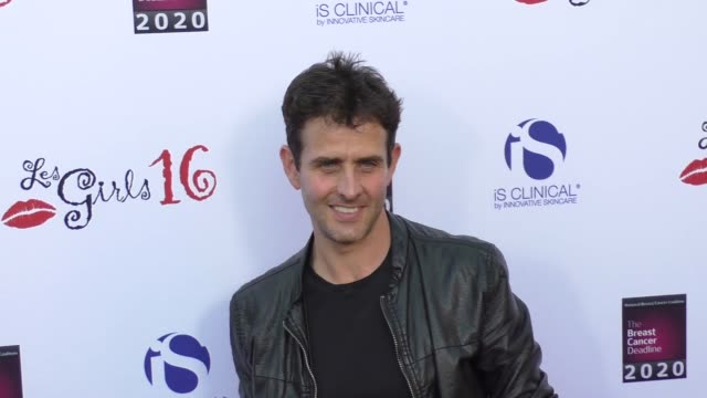 Joey McIntyre at National Breast Cancer Coalition's 16th Annual Les Girls Cabaret on October 16 2016 in Los Angeles California