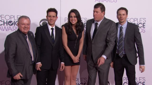 Joey McIntyre Kelen Coleman Jimmy Dunn Tyler Ritter Jack McGee at People's Choice Awards 2015 in Los Angeles CA