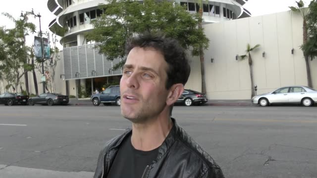 INTERVIEW Joey McIntyre talks about his Halloween plans boy bands today outside Avalon Nightclub in Hollywood in Celebrity Sightings in Los Angeles
