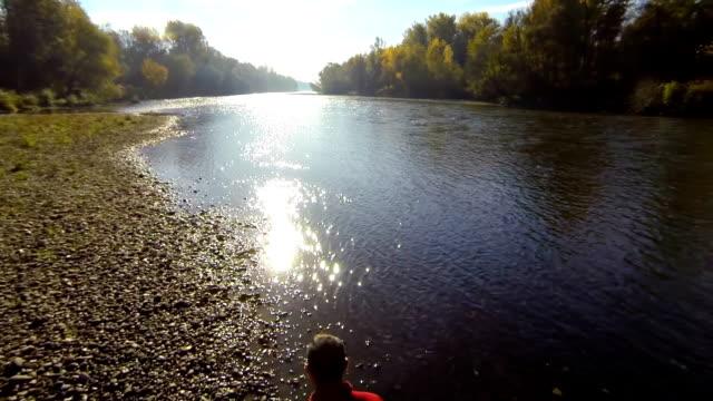 HD: Jogging Along The River