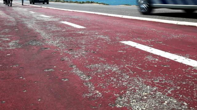 ジョギングやサイクリングの肋骨 road - カスカイス点の映像素材/bロール