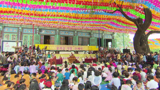 ms td jogyesa temple on buddha birthday / seoul, south korea - buddha's birthday stock videos and b-roll footage
