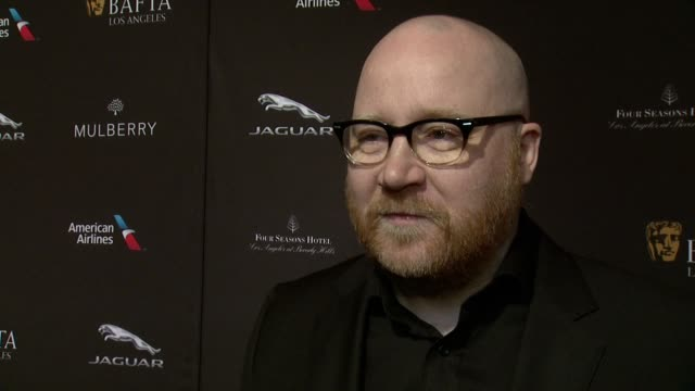 interview johann johannsson on being at the event on what makes the bafta tea party one of the most prestigious events of the weekend and on getting... - tea party stock videos and b-roll footage