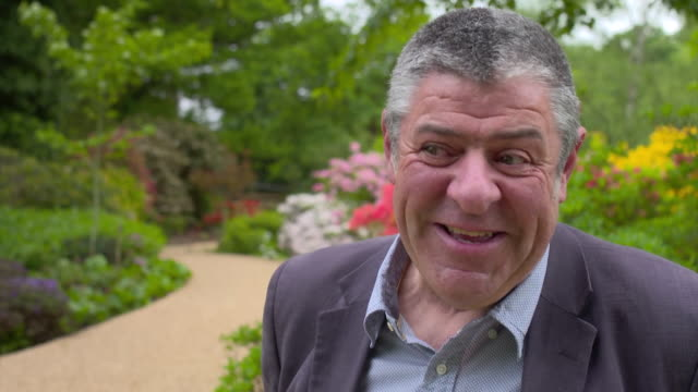 john anderson keeper of the gardens talks in windsor great park about the extent of his knowledge of the floral designs for prince harry and meghan... - prince harry stock videos and b-roll footage