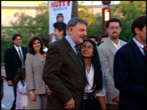 John Astin at the Premiere of 'The Nutty Professor' at Universal Amphitheatre in Universal City California on June 28 1996