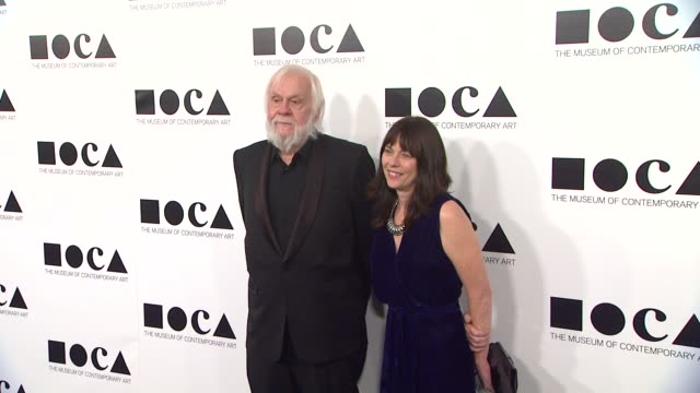 john baldessari at the the museum of contemporary art los angeles presents the annual moca gala at los angeles ca - los angeles museum of contemporary art stock videos and b-roll footage
