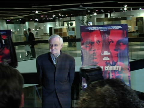 john boorman at the 'in my country' premiere arrivals at pacific design center in west hollywood, california on march 3, 2005. - pacific design center stock videos & royalty-free footage