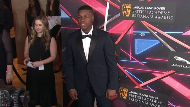 john boyega at 2015 jaguar land rover british academy britannia awards presented by american airlines in los angeles ca - land rover stock videos and b-roll footage